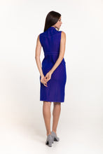 Load image into Gallery viewer, Electric Blue Stitch dress