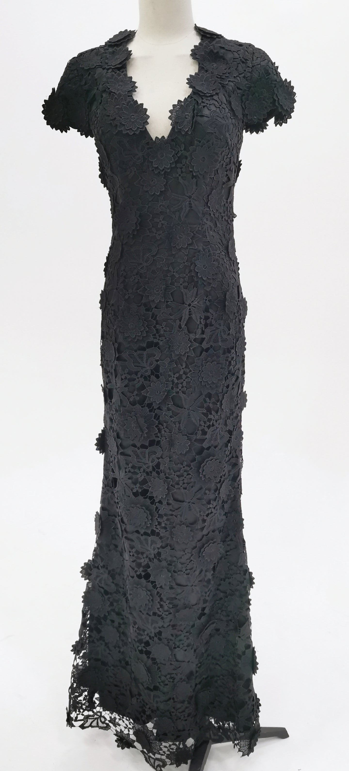 Lace Overlay Gown
