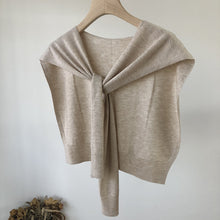 Load image into Gallery viewer, Shawl Sweater