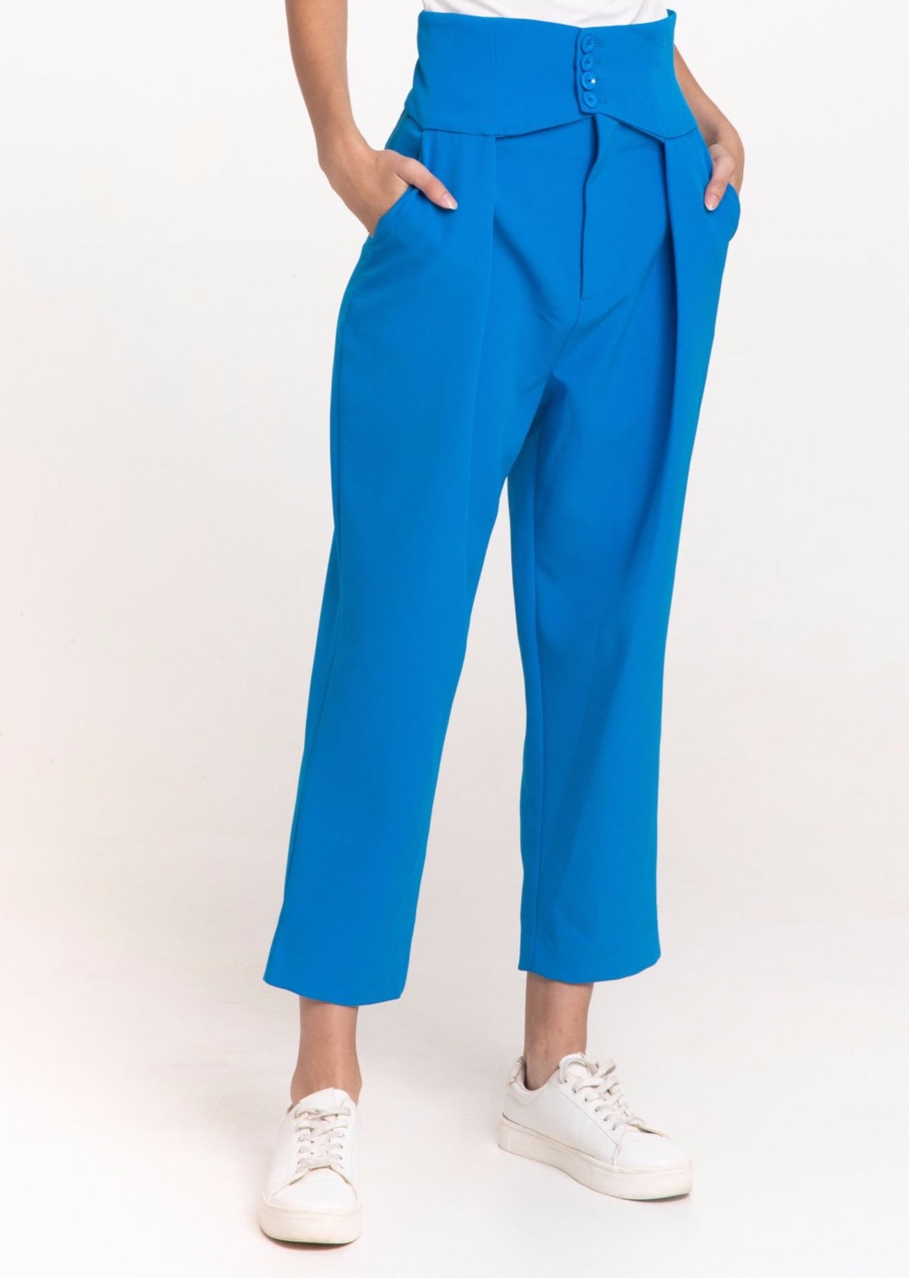 Alfie trousers in blue