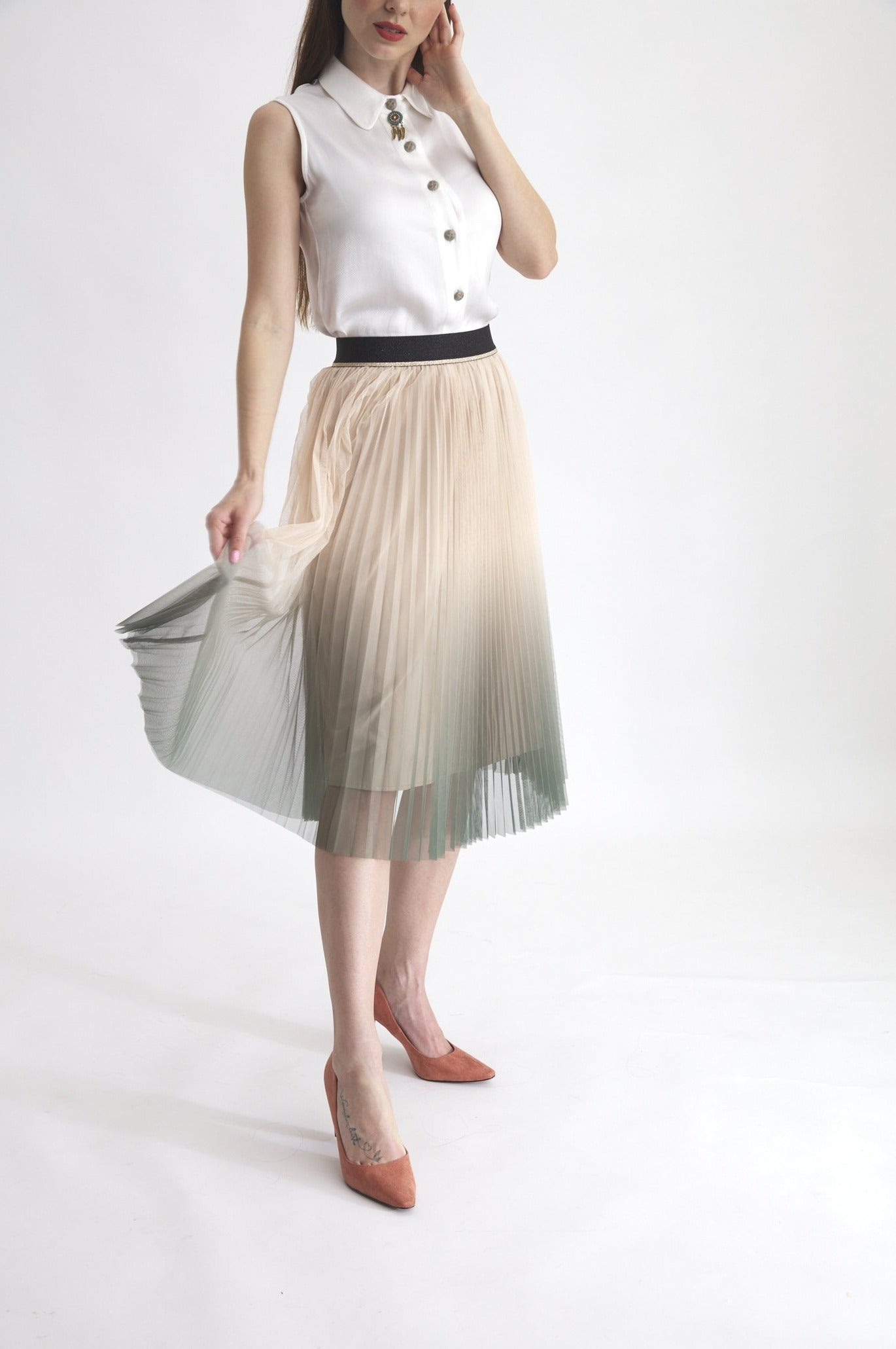 Gran Canaria Tulle Skirt