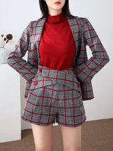 Load image into Gallery viewer, Plaid Power Shorts