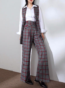 Plaid Power Trousers