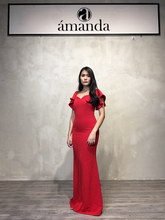 Load image into Gallery viewer, Red Long Dress