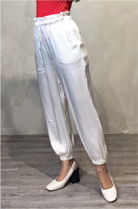 Drawstring Paper Bag Pants