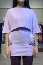 Load image into Gallery viewer, Lavender ruffle top