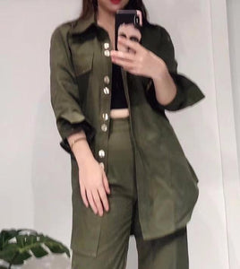 Piper Jacket in Army Green
