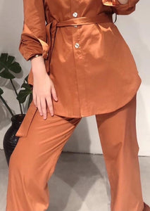Piper Pants in Caramel