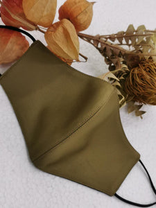 Olive and Black Reversible Mask