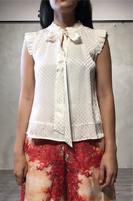 Esther sleeveless blouse