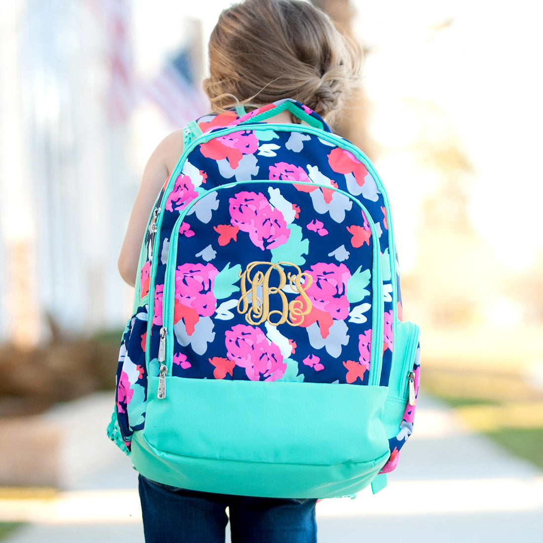 Personalized School Backpacks available soon from PinkBlush!