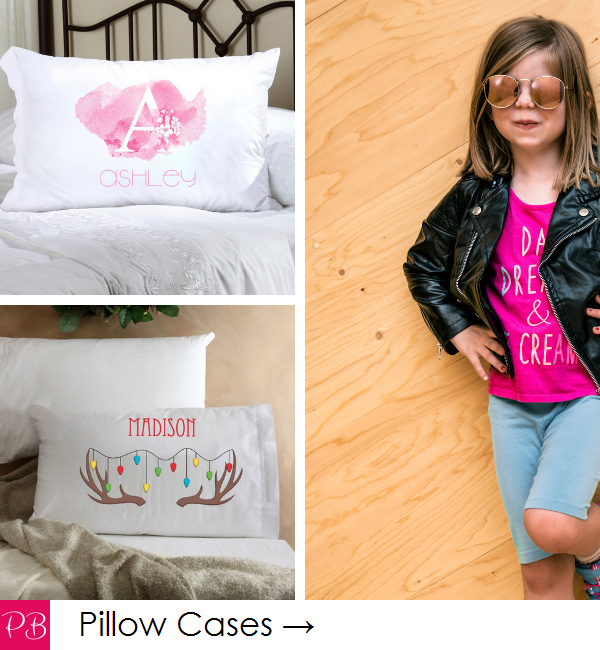 Pink Blush Kids - Personalized Pillows and Pillow Cases