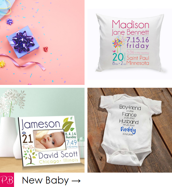 Pink Blush Occasions - Personalized New Baby Gifts
