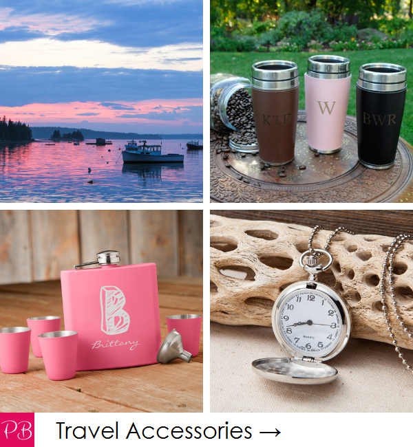 Pink Blush Travel - Miscellaneous Personalized Travel Accessories