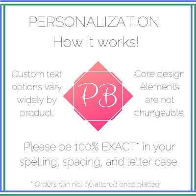 PinkBlush - How personalization works
