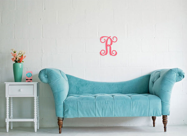 "Personalized Single Initial Monogram ~ CHOOSE 12"" or 18"" high"