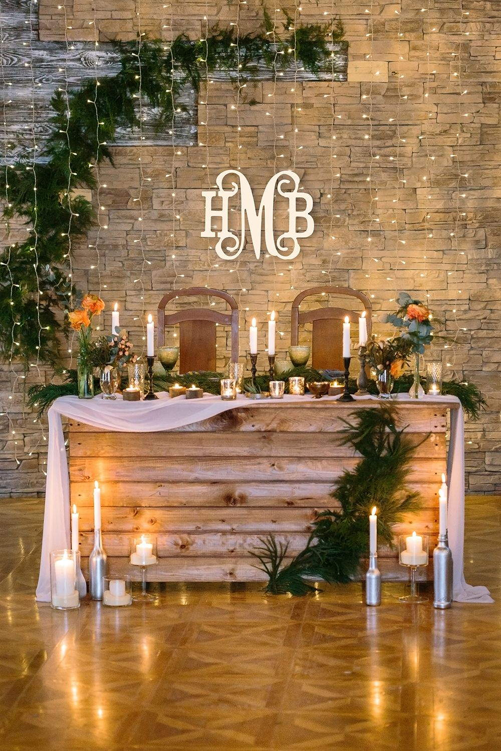 Personalized Small Three Initials Classic Vine Wood Monogram ~ 14 in. high