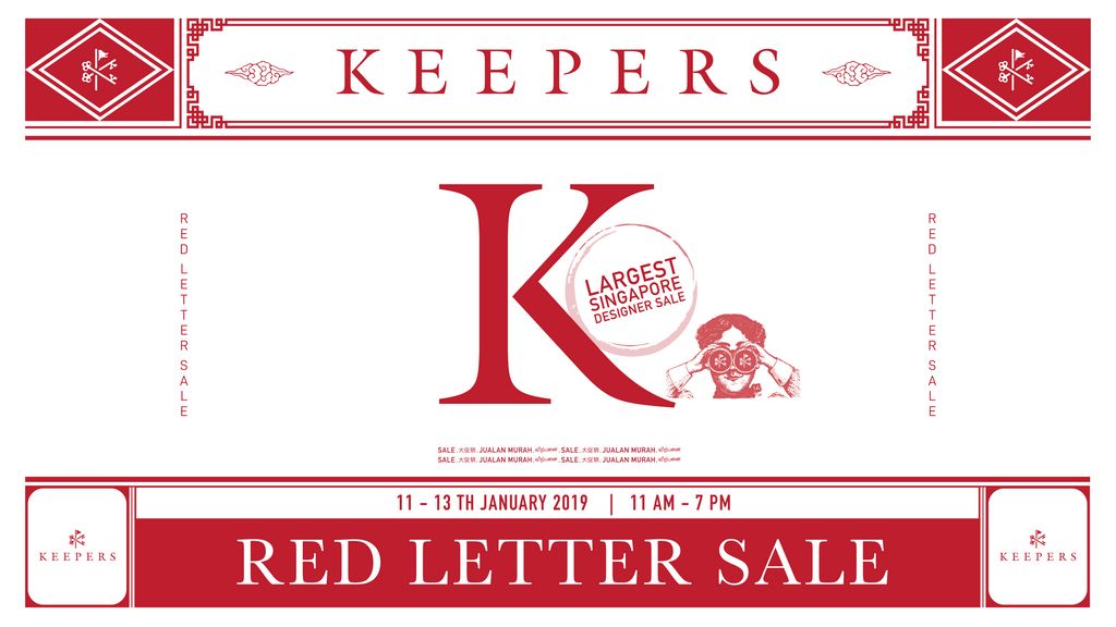 Keepers Red Letter Sale 2019