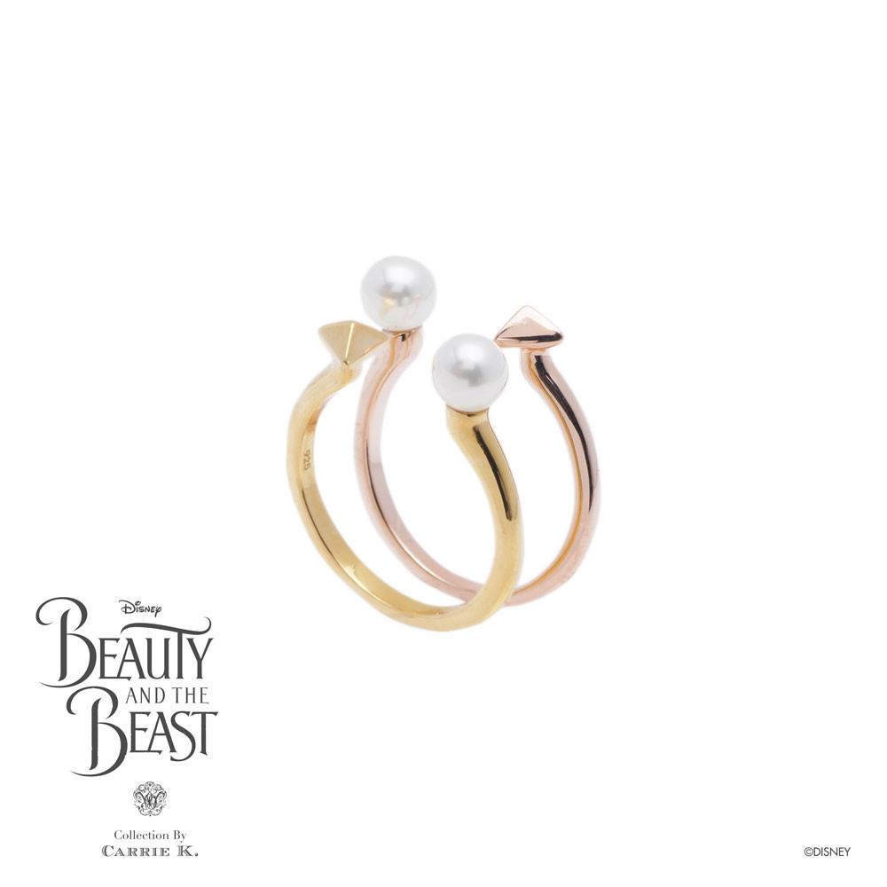 Tooth White Pearl Ring