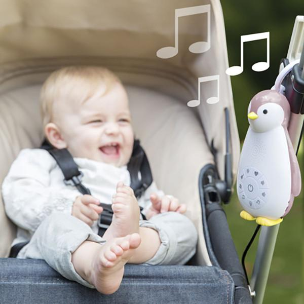 Penguin Sleeptrainer, with nightlight & wireless speaker