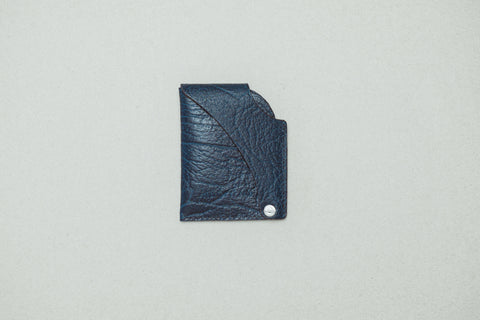 Borg - Textured Leather Blue - KEEPERS