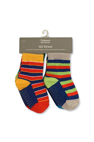 123 Street Baby Socks (12-24 mths) - set of four - KEEPERS