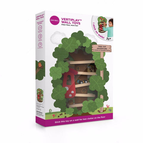 VertiPlay™ Wall Toys Tree Top Slide - KEEPERS