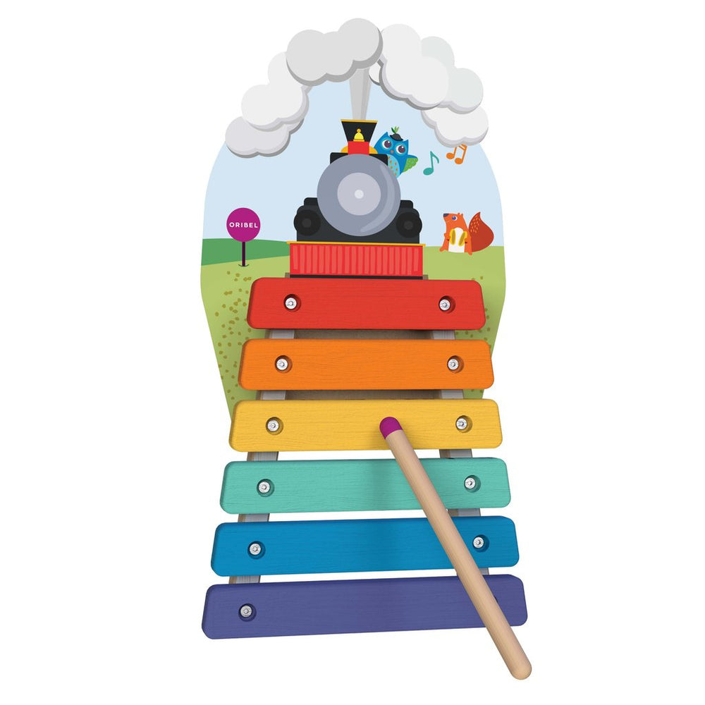 VertiPlay™ Wall Toys Musical Rail Track- Xylophone - KEEPERS