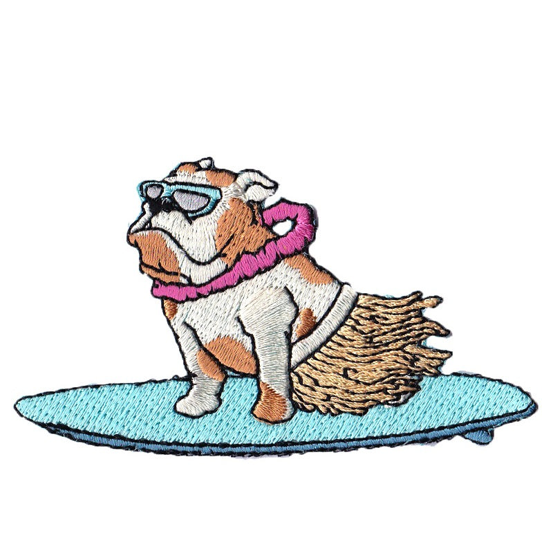 Dusty Surfin' Bulldog - KEEPERS