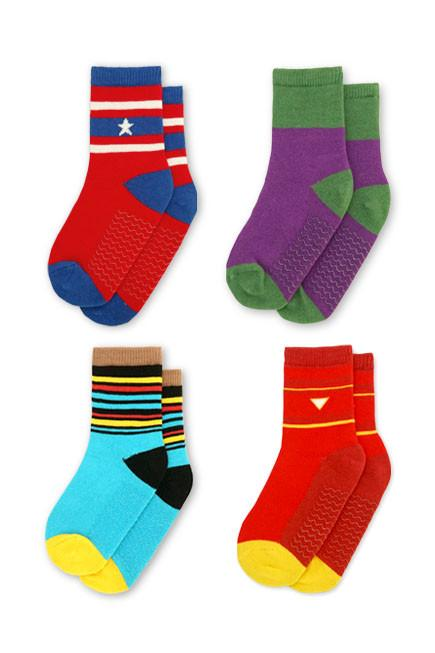 Heroes Assemble Baby Socks (4-6 yrs) - set of four - KEEPERS