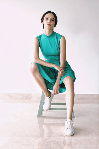 Signature Cut Out Sleeveless Dress - KEEPERS