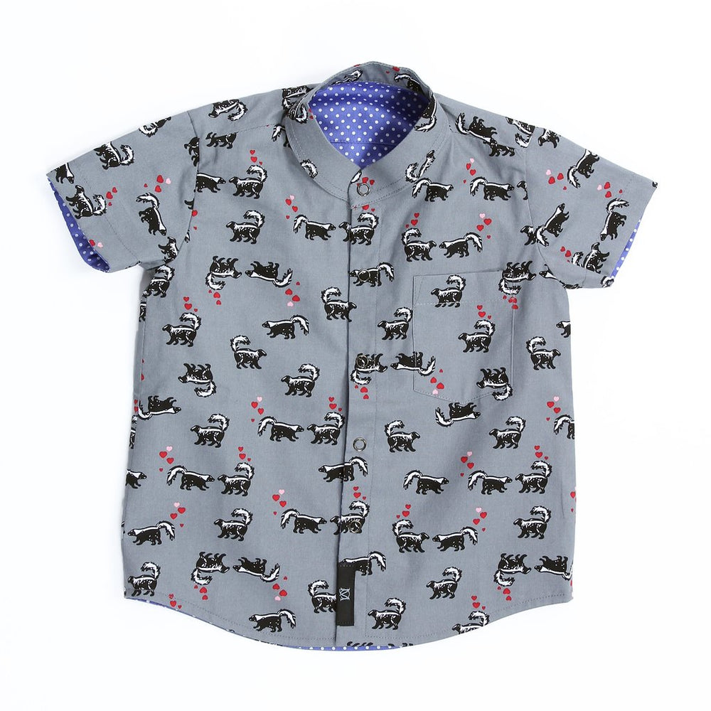 LoveLePew Reversible Shirt - KEEPERS