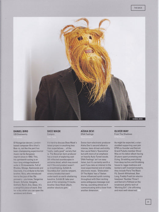 '120' review in Electronic Sound Magazine