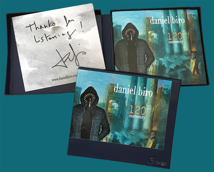 New CD '120 onetwenty' out now!