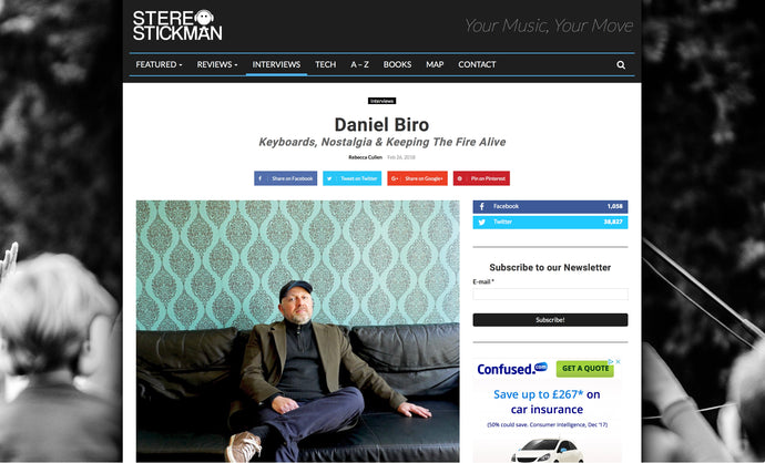Great reviews of Daniel's new album '120 onetwenty'