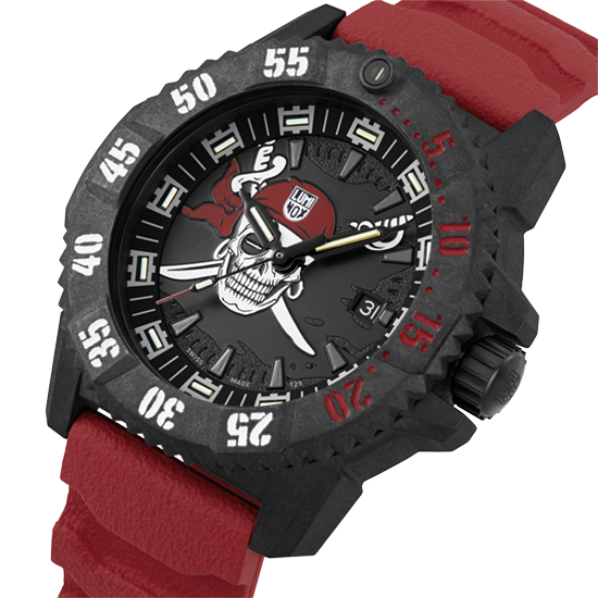 Introducing the Jolly Roger Limited Edition 3800 series - Luminox Swashbuckling Adventure Awaits