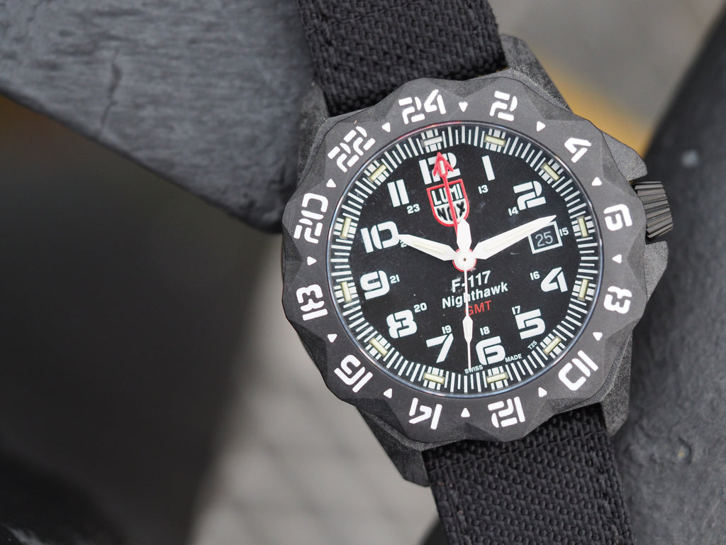 Luminox F-117 Nighthawk 6440 Series Adding Carbonox™+ to the Mix