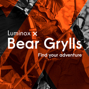 Luminox Partners Bear Grylls - NeverGiveUp Meets EverySecondCounts
