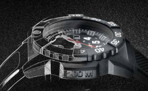 Luminox 3500 Navy SEAL Sketch