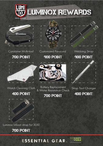 Luminox Rewards Programme