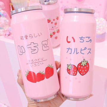 Strawberry Stainless Insulated Water Bottle