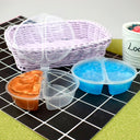 Round Double Dip Storage Container