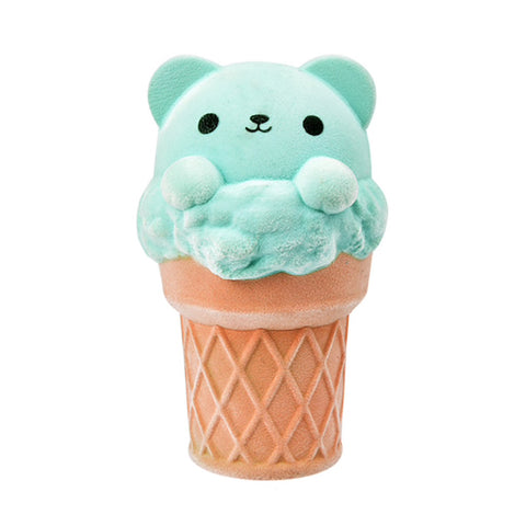 Fuzzy Minty Ice Cream Squishy