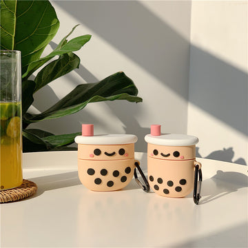 Milk Tea Boba AirPods Case