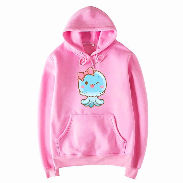 Pink Shelly the Jelly Hoodie