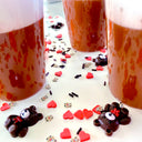 Beary Cherry Mocha Latte Slime