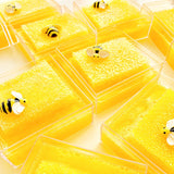 Raw Honeycomb Slime with Bee Charm