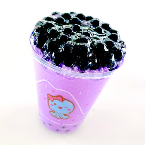 Taro Bubble Frost Drink Slime