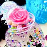 Sugar Skull Clear Slime & Trinket Box