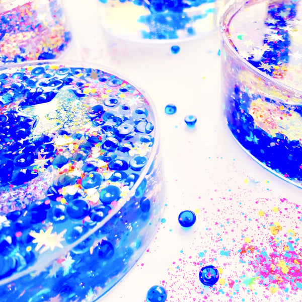 Space Galaxy Goo Clear Slime
